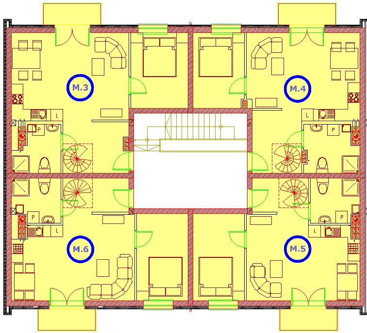segment A piętro